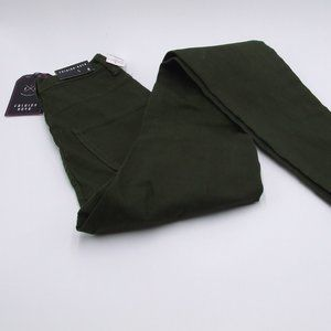 NWT Fashion Nova Size 5 Green Skinny Stretch Jeans